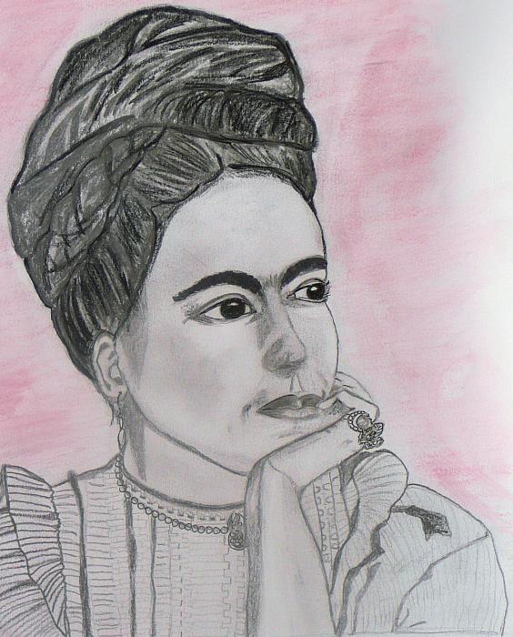 Frida Kahlo by Gina